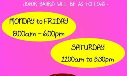 New Operation Hours Of UTM Souvenir Shop Johor