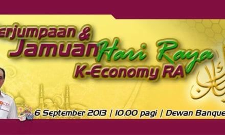 Perjumpaan & Jamuan Hari Raya K-Economy RA