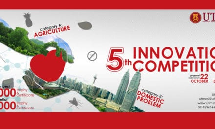 5th Innovation Competition for UTM Students