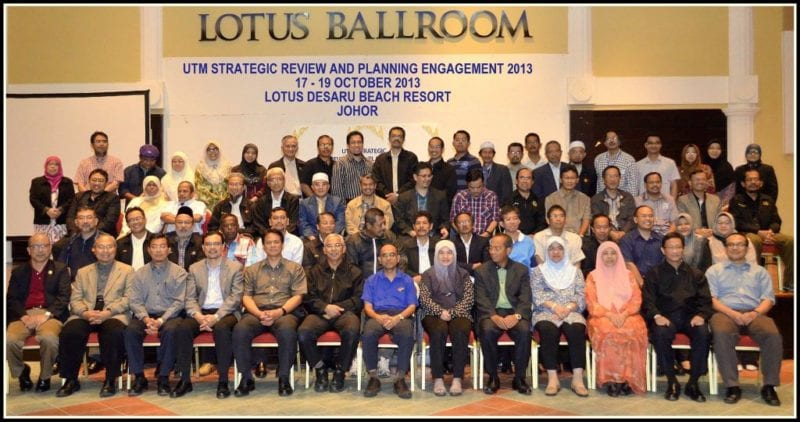 Highlights of Vice Chancellor's Keynote Address UTM Strategic Review and Planning Engagement 17 – 19 Oct, 2013