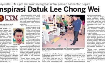 Inspirasi Datuk Lee Chong Wei – Kosmo 16 Okt. 2013