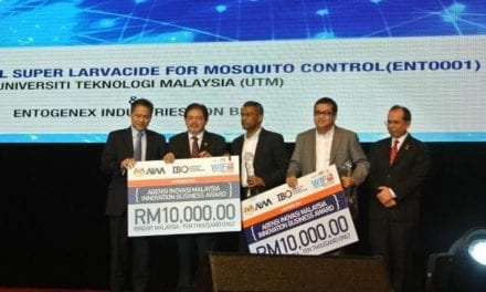 IBD won Innovation Business Award at WIF-KL 2013