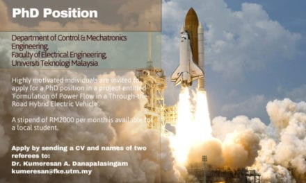 PhD Position in Control Engineering with Stipend