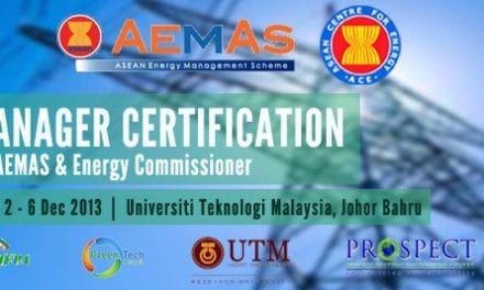 Workshop On Energy Manager Certification Under The Aemas And Energy Commissioner