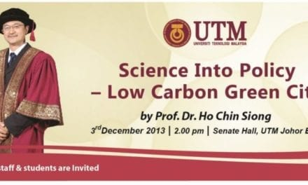 Public Lecture : Science Into Policy