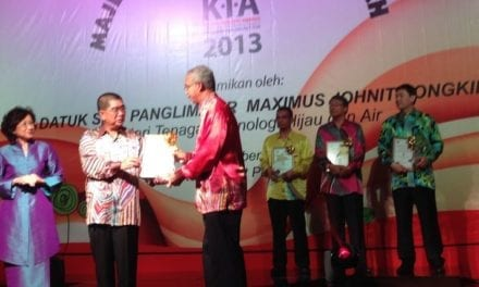 UTM-MPRC Institute for Oil and Gas raih Anugerah Industri Tenaga 2013