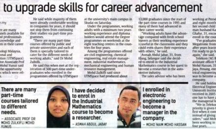 Need to upgrade skills for career advancement