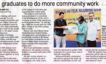USM graduates to do more community work