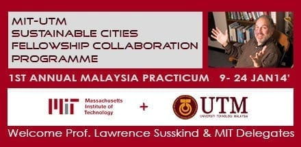 MIT-UTM Sustainable Cities Fellowship Collaboration Programme