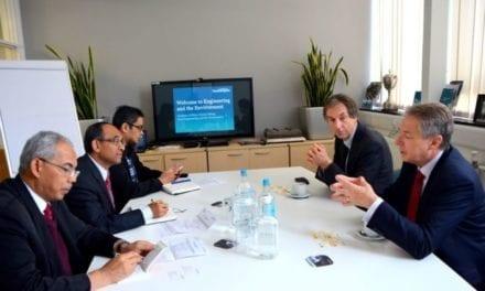 UTM Vice-Chancellor heads delegation to Southampton University