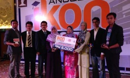 Mahasiswa UTM menang Anugerah Ikon Kidmat Sosial BH