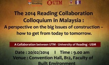 The 2014 Reading Collaboration Colloquium in Malaysia