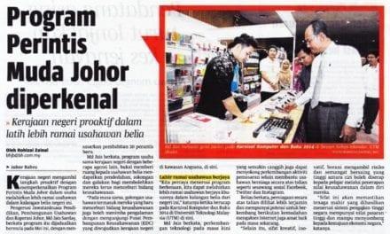 Program Perintis Muda Johor diperkenal