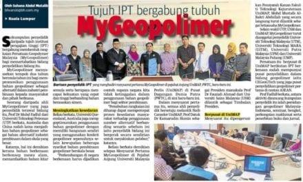 Tujuh IPT bergabung tubuh MyGeopolimer
