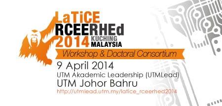 Workshop & Doctoral Consortium LaTiCE RCEE RHEd 2014