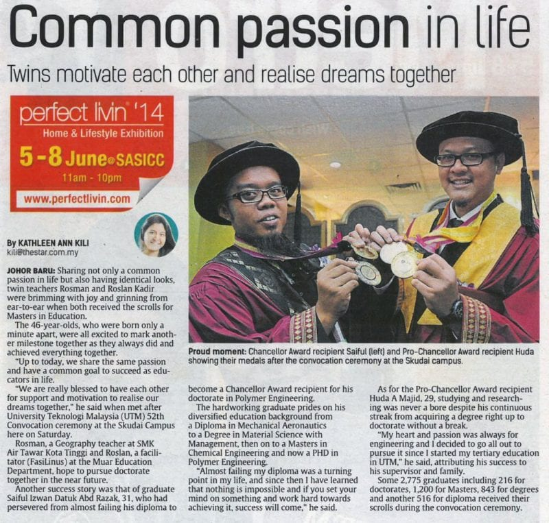 Common passion in life