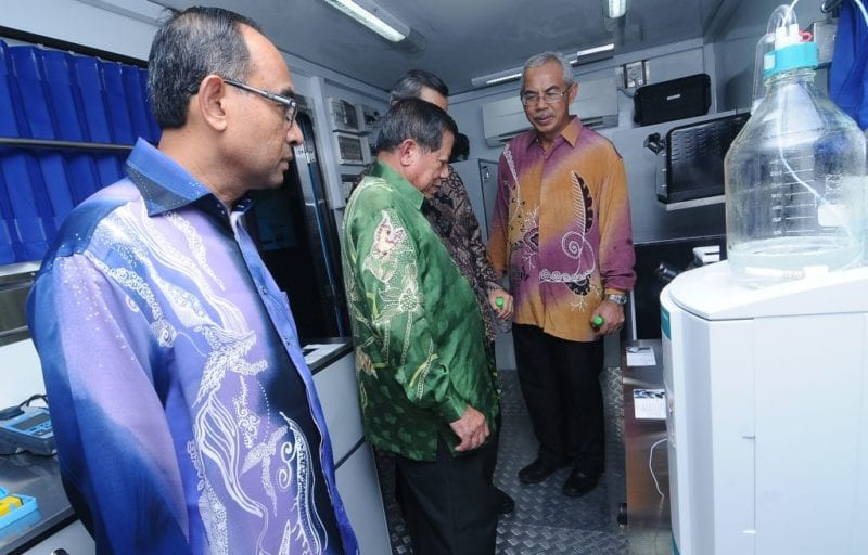 UTM Launched Mobile Lab for On-Site Water Analysis