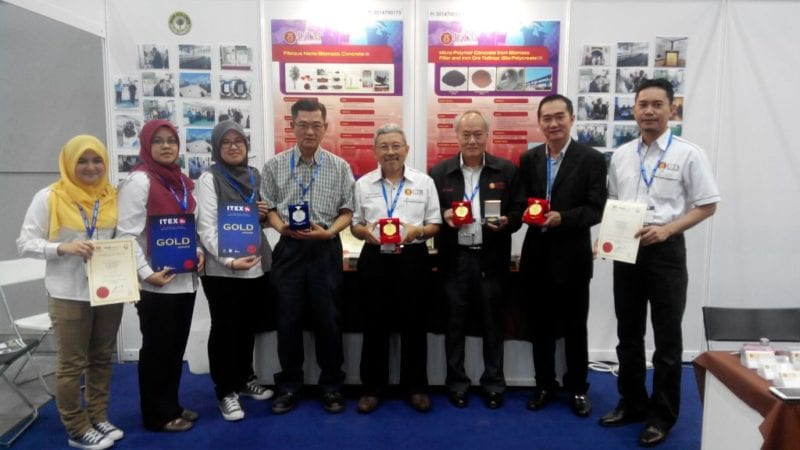 UTM Wins 3 Gold and 1 Silver at ITEX 2014