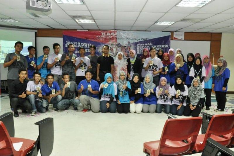 Karnival Sukan Fakulti Kejuruteraan Awam 2104 (KASUF'14) Pereratkan Hubungan Silaturahim Pelajar