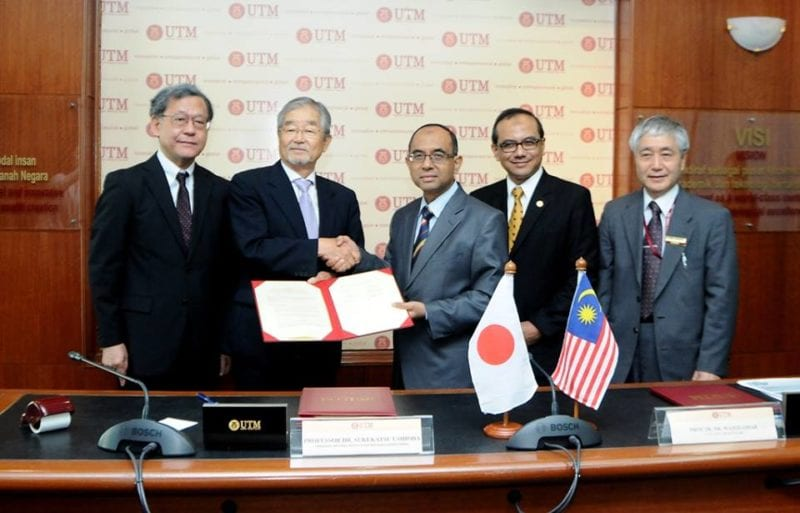 UTM – NIMS to collaborate in Material Science Research & Development