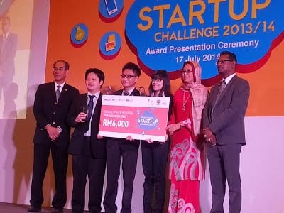 UTM Team won 1st place in Business Idea at IHL-MSC Malaysia Startup Challenge (i-MSC) 2014