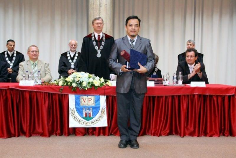 Pannonia Award: Honorary Doctorate for Professor Dr Zainuddin