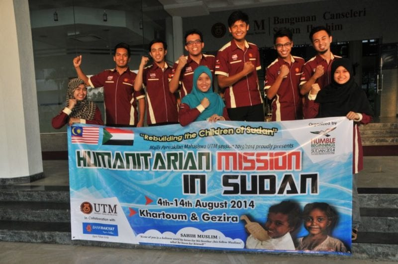 UTM students organise humanitarian aid mission in Sudan