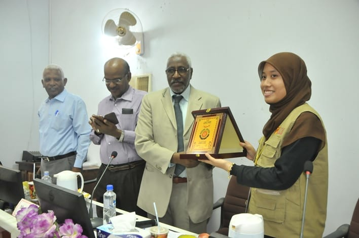 UTM delegate get the warmest welcome from the VC University of Gezira