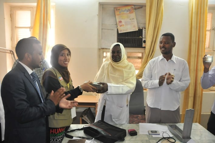 UTM student Representative Council donates more than SDG 30,000 to Pediatric Hospital