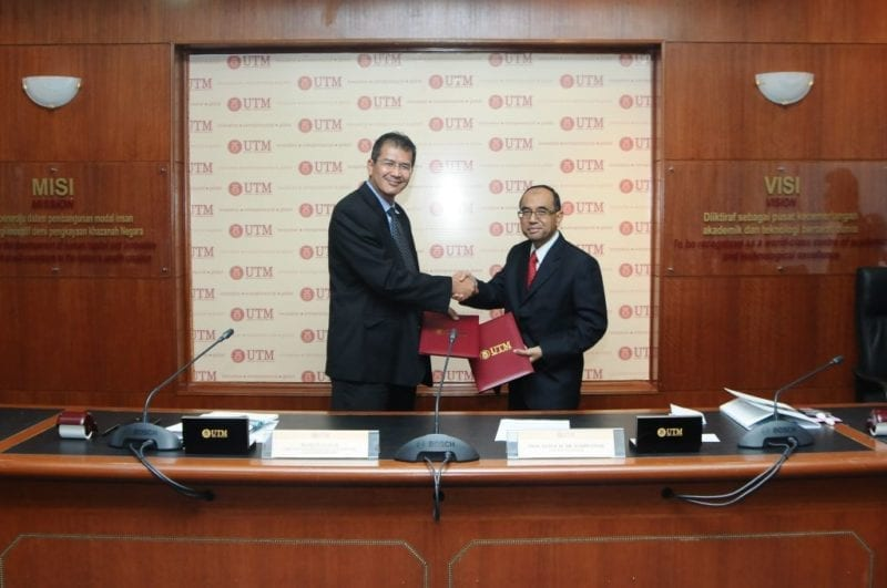 UTM-Geron Biomed signed MoU to expand cooperation in biotechnology