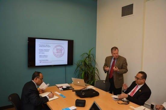 Briefing by Dr Bernd Widdig Director International Affairs MIT