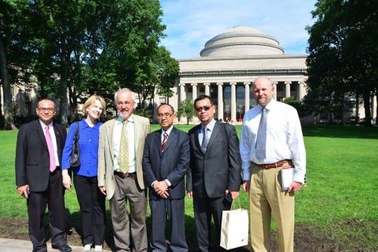 MIT Campus Tour with Dick Larson