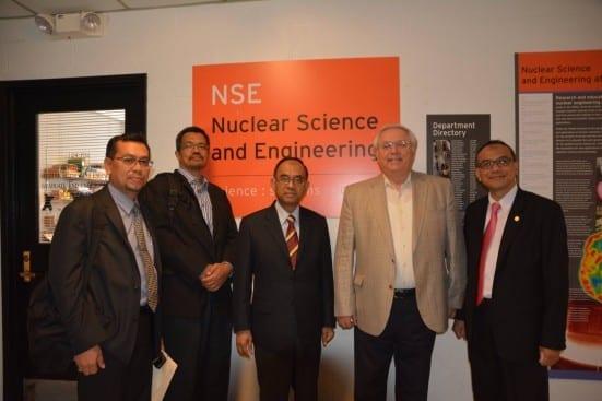 Meeting with Prof Mujid Kazami Nuclear Engineering MIT
