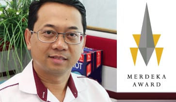 Prof. Dr. Ahmad Fauzi Ismail selected as the recipient of Merdeka Award 2014
