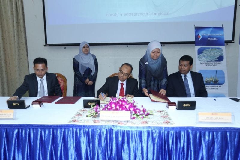 UTM, KPRJ Petroleum and Isunsg Management forged an agreement to allow strategic collaboration