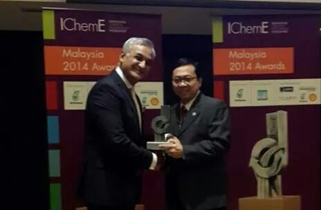 Congratulations to Prof Ahmad Fauzi Ismail for being awarded the winner of the Innovator of the Year Awards IChemE Malaysia 2014