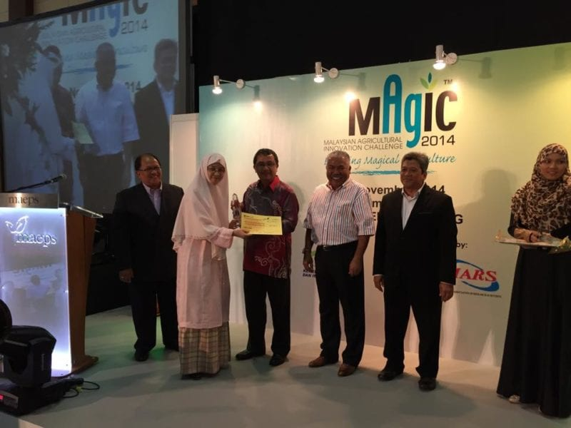 UTM Researcher Awarded Gold at the Malaysian Agricultural and Innovation Challenge (MAGIC)