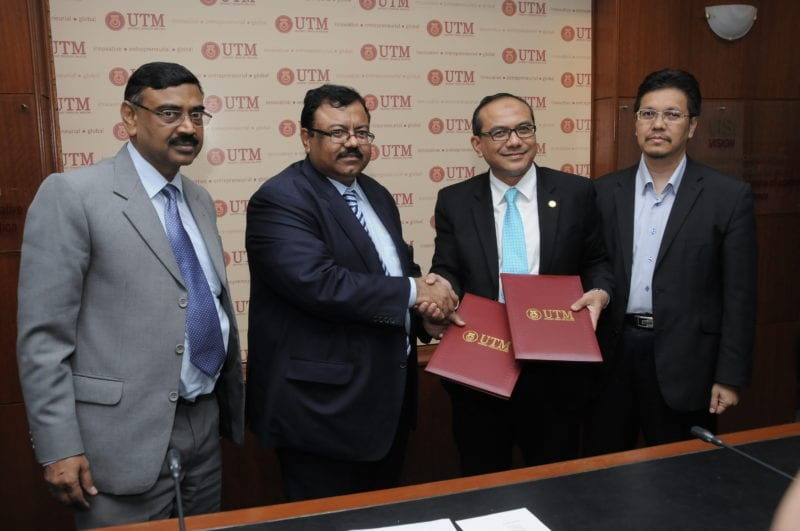 UTM-Pakistan Mehran University of Engineering and Technology  Sign MoU