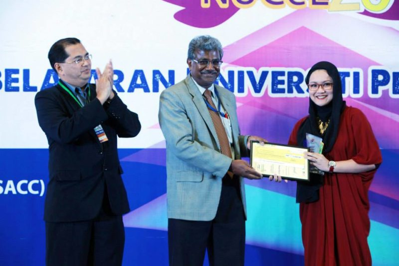 UTM Researchers Bagged National e-Learning Award and Medals at NUCEL 2014