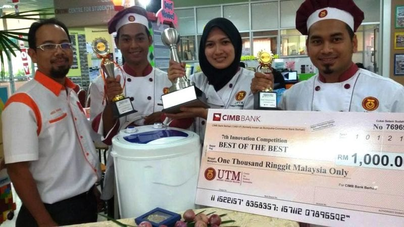Team SPPL 1 Emerged Champion at the UTM 7th Innovation Competition