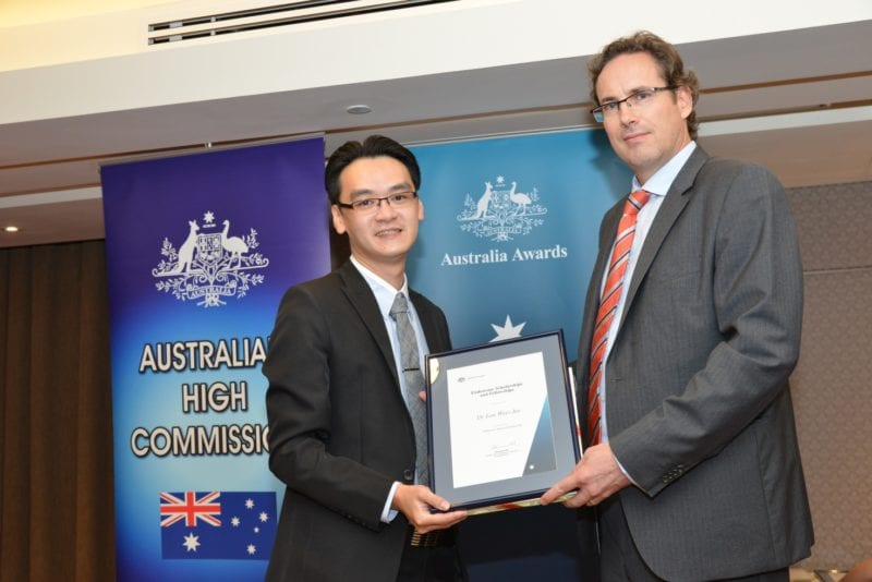 UTM Researcher Received Australian Endeavour Research Fellowship