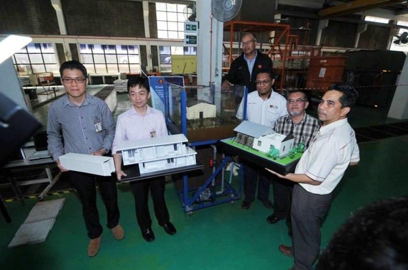 UTM Perkenal Tiga Inovasi Binaan Rumah Pasca-Banjir