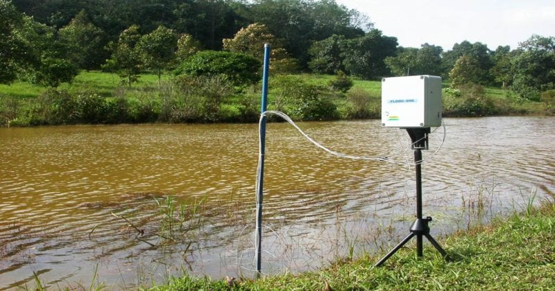 UTM SMS Based Flood Device Minimizes Loss