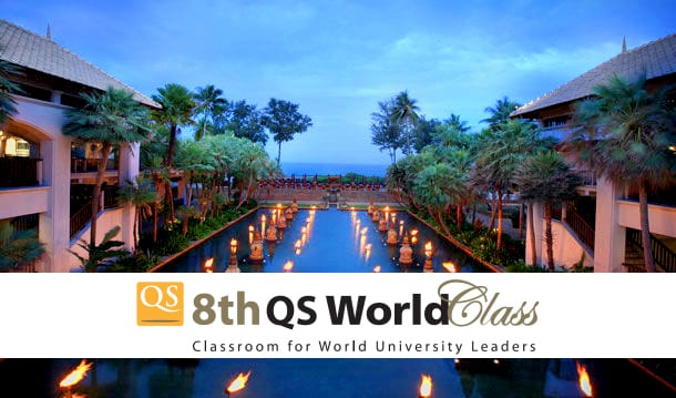 Vice-Chancellor Participating at the 8th QS World Class Seminar in Phuket, Thailand