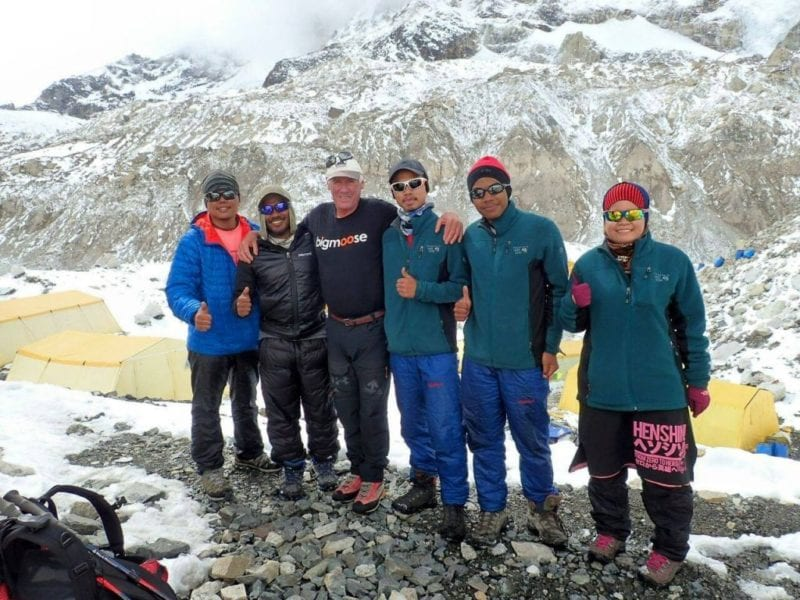 UTM-Everest Climbers Safely Home