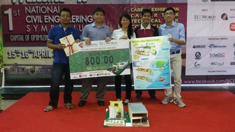 FKA team won 2nd place in Ecoworld Sustainable Innovation Competition