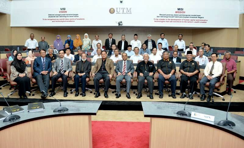 UTM Receives Courtesy Visit from the National Council of Professors