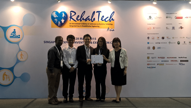 UTM Students Win Pitching Award in Singapore