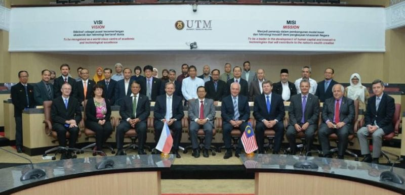 Czech Ambassador and University Rectors Visit UTM