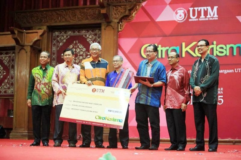 Faculty of Education won the Vice-Chancellor Innovation Award in Citra Karisma 2015